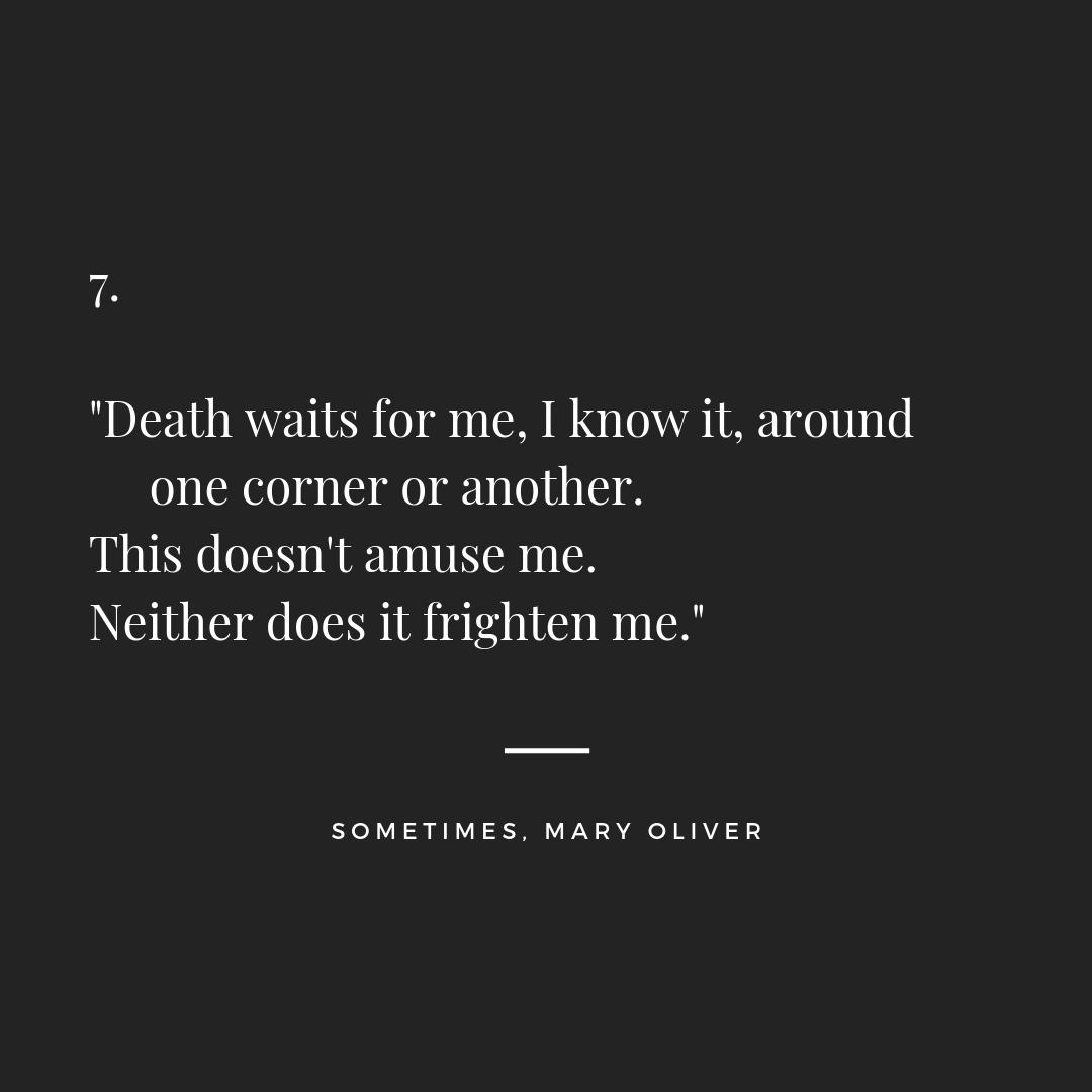 Mijn Leraar Mary Oliver Is Overleden Anne Van Der Sligte